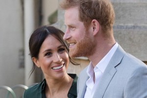 epa07093948 (FILE) - Prince Harry, Duke of Sussex and Meghan, Duchess of Sussex visit Brighton, Britain, 03 October 2018. The Kensington Palace has announced on 15 October the the couple are expecting their first baby in the Spring of 2019.  EPA/VICKIE FLORES
