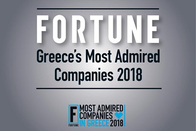 Most Admired Companies: Οι εταιρείες που διακρίθηκαν στην Ελλάδα για το 2018