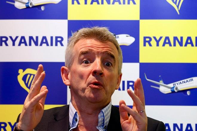 Προειδοποίηση CEO της Ryanair: Ένα σκληρό Brexit θα καθηλώσει τα αεροσκάφη για εβδομάδες