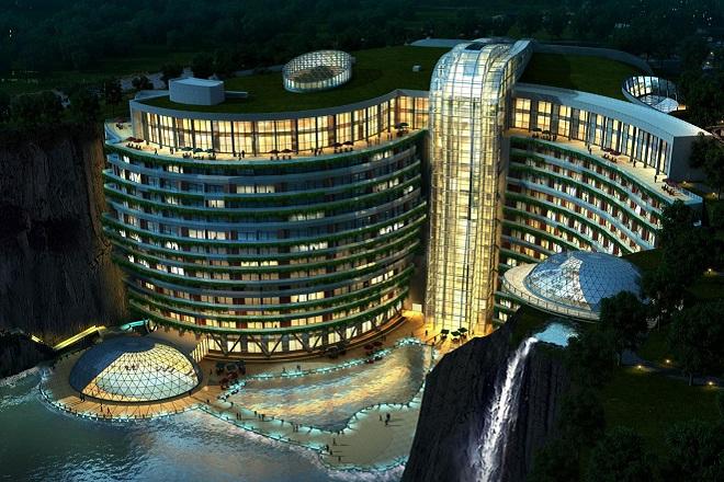 Αυτό είναι το πρώτο ξενοδοχείο του κόσμου σε…λατομείο
