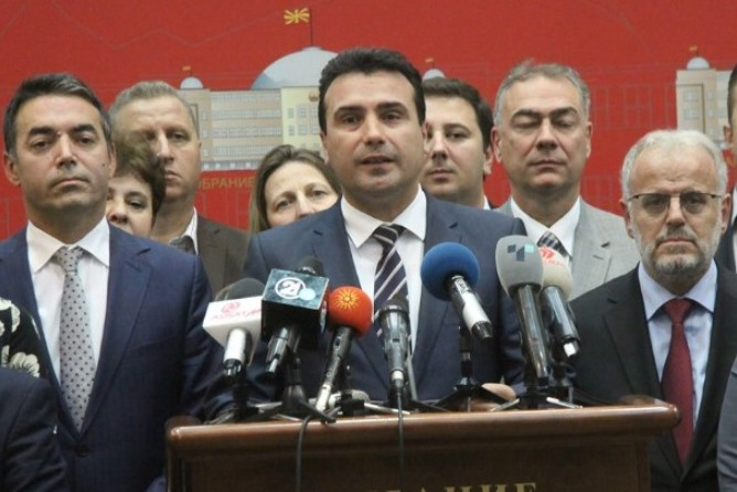 Ζάεφ από Αυστρία: «Βόρεια Μακεδονία… προσεχώς» – Μηνύματα ενόχλησης από την Αθήνα