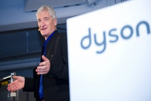epa06228365 (FILE) - British entrepreneur and inventor James Dyson unveils his new invention, the Airblade Tap hand drier, in Hamburg, Germany, 28 February 2013 (reissued 26 September 2017). British inventor James Dyson of household goods company Dyson announced on 26 September 2017 it was planning to invest two billion British pound (approx 2.7bn USD) in the development of an electric car. Thge company is best known for vacuum cleaners and fans.  EPA/AXEL HEIMKEN  GERMANY OUT *** Local Caption *** 50731877