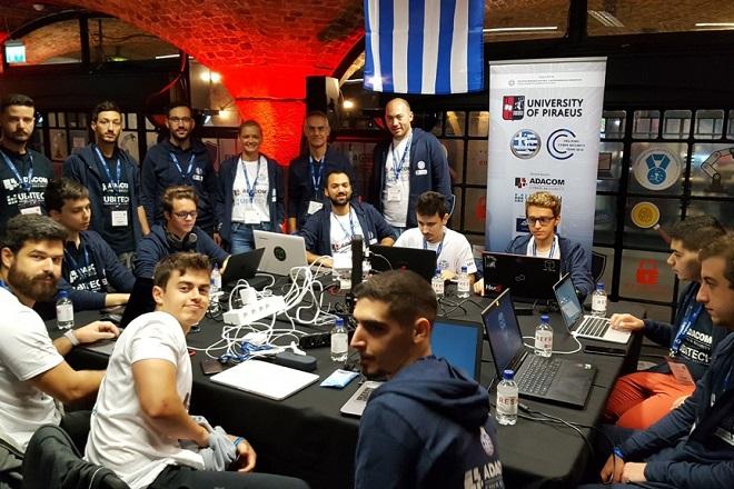 Στην πέμπτη θέση η ελληνική ομάδα στον Ευρωπαϊκό Διαγωνισμό Κυβερνοασφάλειας