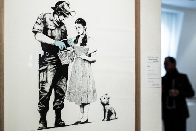 Νέα δημοπρασία έργων του Banksy προκαλεί πονοκέφαλο στον οίκο δημοπρασιών Artcurial