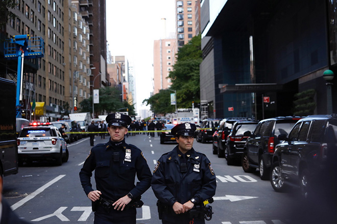 Suspicious package sent to Time Warner building