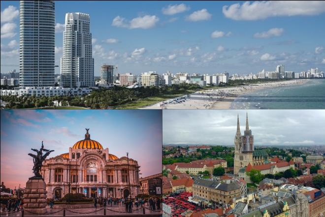 Οι δέκα καλύτερες πόλεις για να επισκεφτείτε το 2019