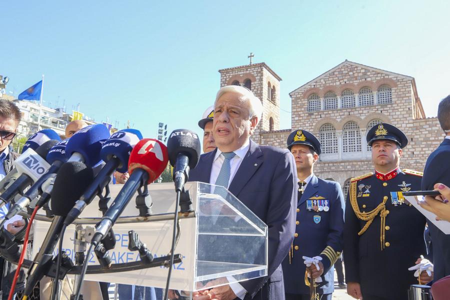 Μήνυμα Παυλόπουλου στην Άγκυρα: Δικαίωμα της Ελλάδας η επέκταση της αιγιαλίτιδας ζώνης της