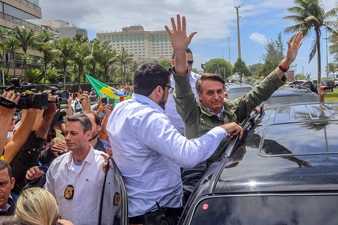 Second round of Brazil's presidential election