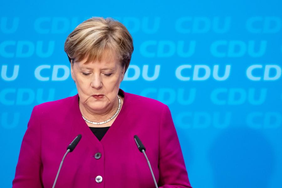 Τέλος εποχής για την Άνγκελα Μέρκελ – Δεν θα είναι ξανά υποψήφια του CDU
