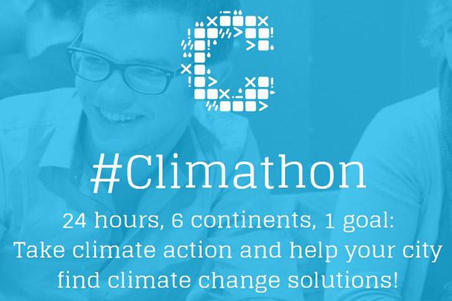 H αντιμετώπιση των κλιματικών προκλήσεων στο επίκεντρο του πρώτου «Climathon Piraeus»