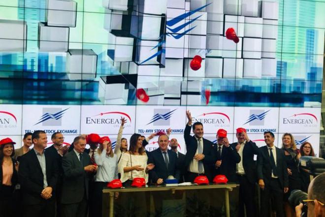 Πρεμιέρα στο Χρηματιστήριο του Τελ Αβίβ για τη μετοχή της Energean