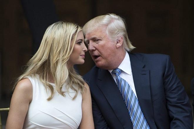 Τα εγκώμια του Ντόναλντ Τραμπ για την κόρη του και οι θεωρίες για το μέλλον της στην πολιτική