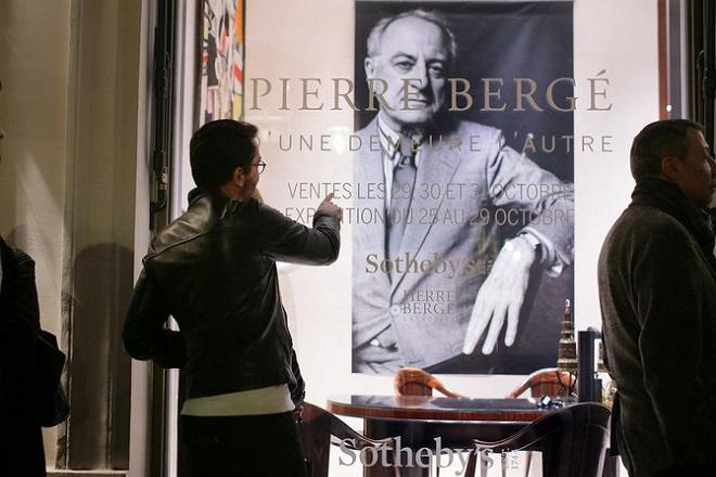 Πουλήθηκε η τελευταία συλλογή του Πιέρ Μπερζέ στην τιμή-ρεκόρ των 27,5 εκατομμυρίων ευρώ