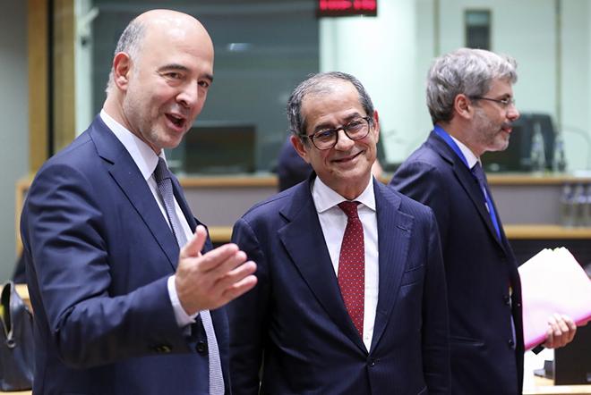 Μοσκοβισί: Εκτός ατζέντας του Eurogroup η Ελλάδα – Υπό εξέταση το αίτημα για τις περικοπές