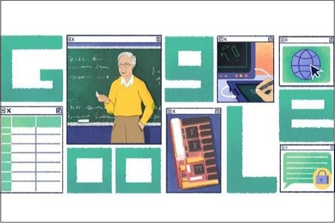 Στον Μιχάλη Δερτούζο είναι αφιερωμένο το σημερινό doodle της Google