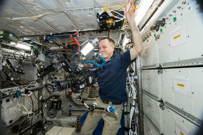 Αυτό είναι το πρώτο βίντεο 8k που γυρίστηκε στο…διάστημα
