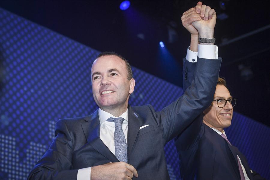 Το χρίσμα του Ευρωπαϊκού Λαϊκού Κόμματος έλαβε ο Μάνφρεντ Βέμπερ
