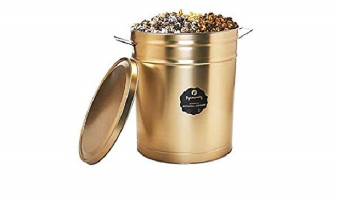 Popinsanity Artisanal Popcorn Multi-Flavored Popcorn Tin