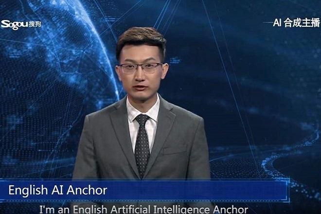 Ο πρώτος «εικονικός» δημοσιογράφος στον κόσμο βρίσκεται στο κινεζικό πρακτορείο ειδήσεων (Βίντεο)