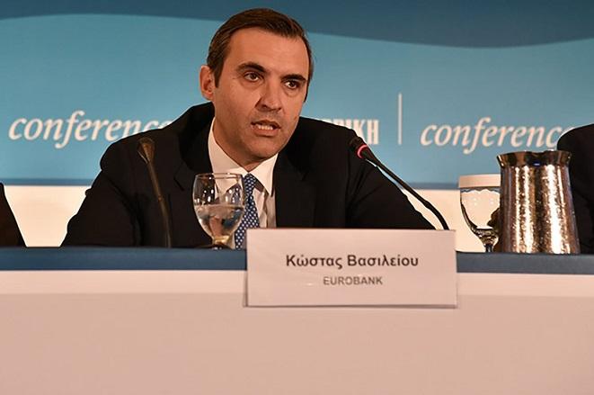 Κωνσταντίνος Βασιλείου (Eurobank): Η ελληνική επιχειρηματικότητα ξεκινά από νέα αφετηρία