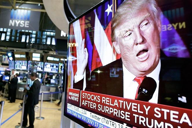 Απογειώθηκε η Wall Street μετά τις εκλογές – Τα μηνύματα για το αποτέλεσμα
