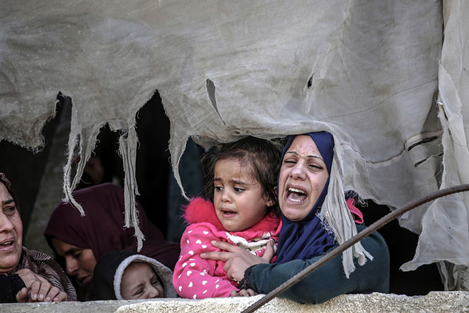 Νέες συγκρούσεις μεταξύ Παλαιστινίων και Ισραηλινών στη Λωρίδα της Γάζας