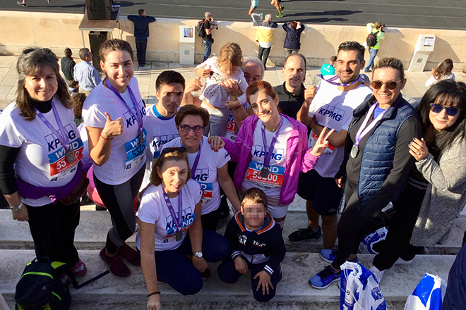 151 δρομείς της KPMG έτρεξαν στον Αυθεντικό Μαραθώνιο για τα παιδιά της ΕΛΕΠΑΠ