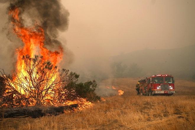 Woosley Fire in Malibu
