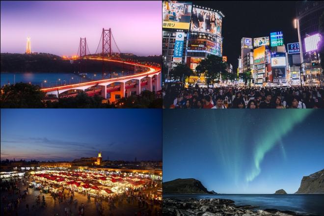 Δέκα πόλεις του κόσμου για ξενύχτηδες