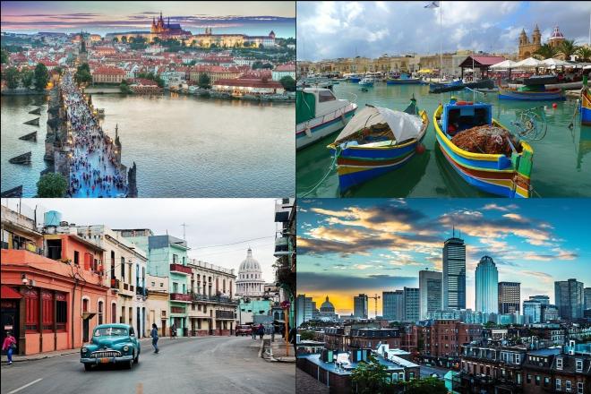 Τα δέκα καλύτερα μέρη για να επισκεφτείτε τον Νοέμβριο