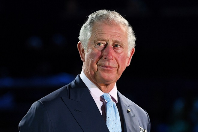 epa07144567 (FILE) - Britain's Prince Charles looks on during the Opening Ceremony of the XXI Commonwealth Games in Carrara Stadium, on the Gold Coast, Australia, 04 April 2018  (reissued 06 November 2018). Prince Charles turns 70 on 14 November 2018.  EPA/DEAN LEWINS  AUSTRALIA AND NEW ZEALAND OUT *** Local Caption *** 54345012
