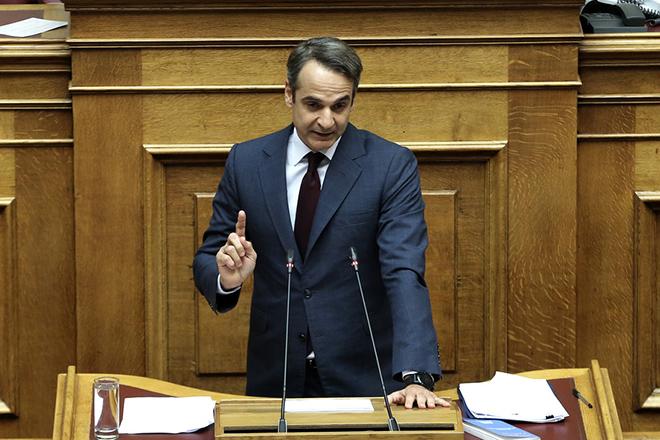 Μητσοτάκης: Ο κ. Τσίπρας χρησιμοποιεί την αναθεώρηση του Συντάγματος σαν εργαλείο