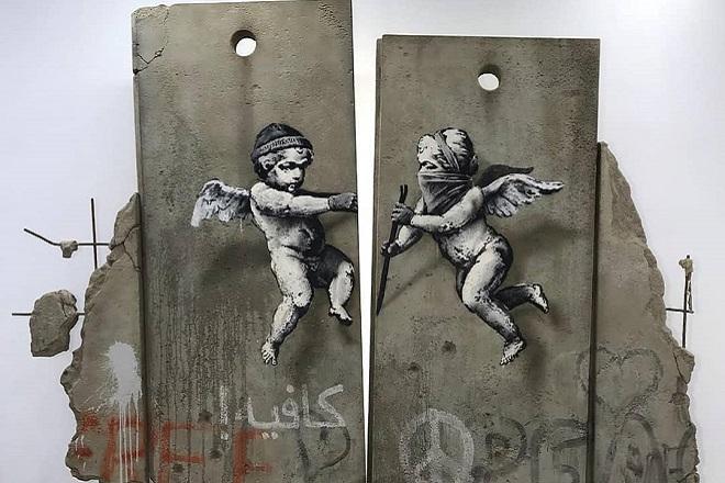 Ο Banksy προκαλεί ξανά, αυτή την φορά στο World Travel Market