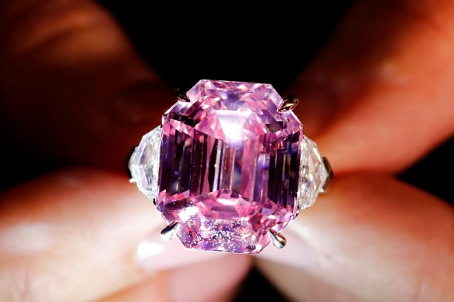 reuters pink legacy diamond
