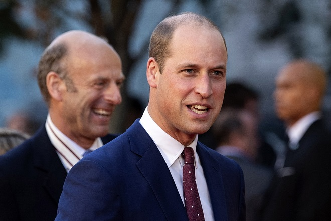 epa07097922 Britain's Prince William, Duke of Cambridge, arrives at the UK premiere of 'They Shall Not Grow Old' at the BFI London Film Festival 2018, in London, Britain, 16 October 2018. The festival runs from the 10 to 21 October.  EPA/WILL OLIVER
