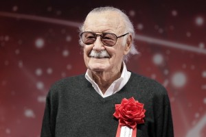 epa07161337 (FILE) - US comic book writer and producer Stan Lee attends the opening ceremony for the Tokyo Comic Convention 2017 at Makuhari Messe in Chiba, east of Tokyo, Japan, 01 December 2017. According to reports Stan Lee died on 12 November at 95 years old.  EPA/KIYOSHI OTA *** Local Caption *** 53929445