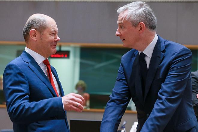 Γαλλία και Γερμανία μαζί, για κοινό προϋπολογισμό της ευρωζώνης