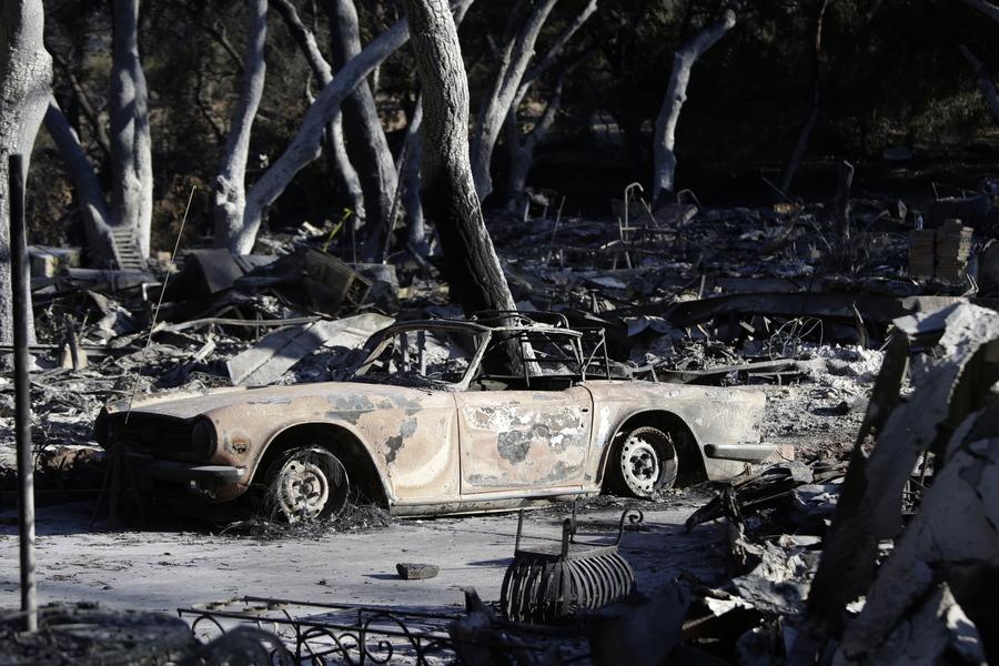 Ξεπέρασαν τους 70 οι νεκροί από τις πυρκαγιές στην Καλιφόρνια