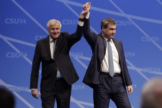Ο πρωθυπουργός της Βαυαρίας Μάρκους Σέντερ θα είναι υποψήφιος για την ηγεσία της CSU
