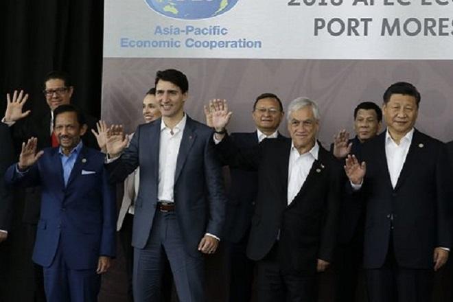 Οι ηγέτες της συνόδου APEC δεν κατέληξαν σε κοινό ανακοινωθέν