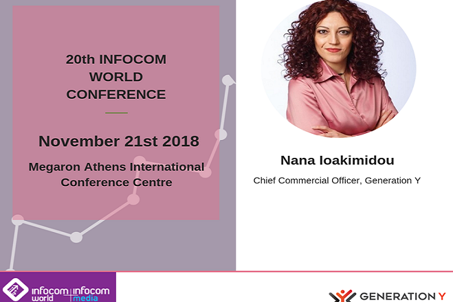 Workshop της Generation Y στο 20ο Διεθνές Συνέδριο «Infocom World 2018»