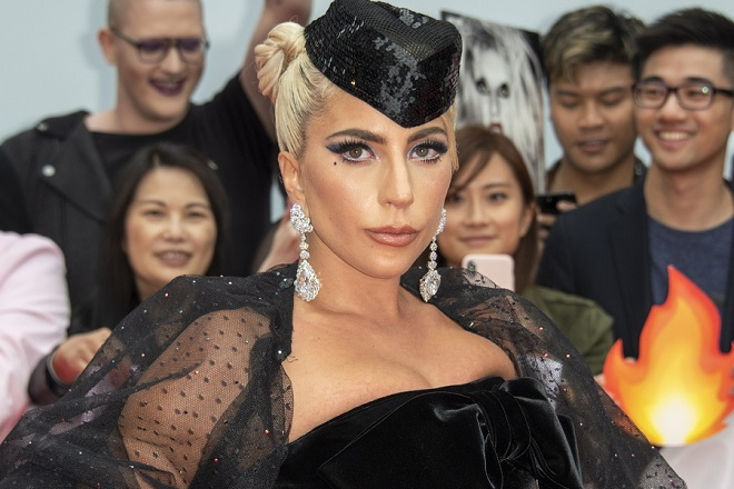 epa07009217 US actress and cast member Lady Gaga arrives for the screening of the movie 'A Star Is Born' during the 43rd annual Toronto International Film Festival (TIFF) in Toronto, Canada, 09 September 2018.  EPA/WARREN TODA