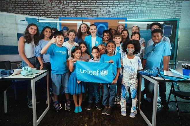 Μίλι Μπόμπι Μπράουν: Από το Stranger Things… νεαρότερη πρέσβειρα καλής θέλησης της UNICEF