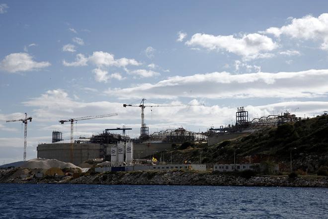 Εγκαίνια για τον αναβαθμισμένο τερματικό σταθμό φυσικού αερίου στη Ρεβυθούσα