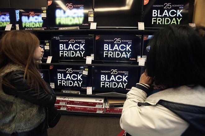 Mεγαλύτερες εκπτώσεις και περισσότερες online αγορές στη φετινή Black Friday στην Ελλάδα