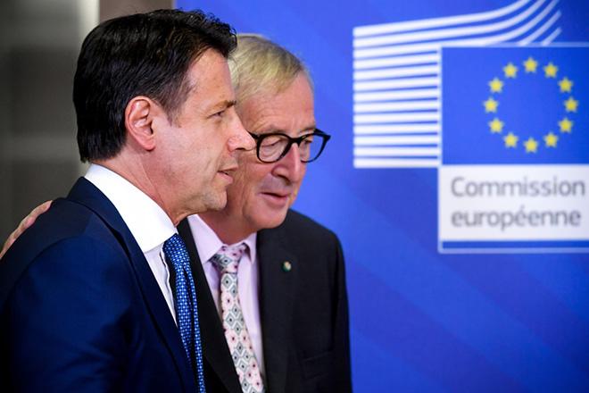 «Τεχνική συμφωνία» μεταξύ Ιταλίας και Κομισιόν για το ιταλικό δημόσιο έλλειμμα του 2019