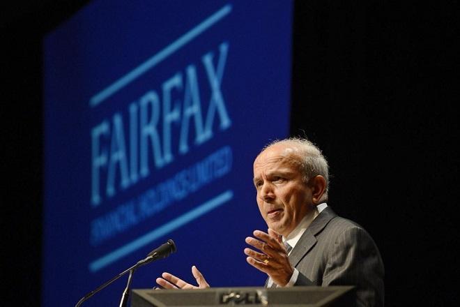Αισιόδοξος για την Ελλάδα δηλώνει ο CEO της Fairfax Financial Holding