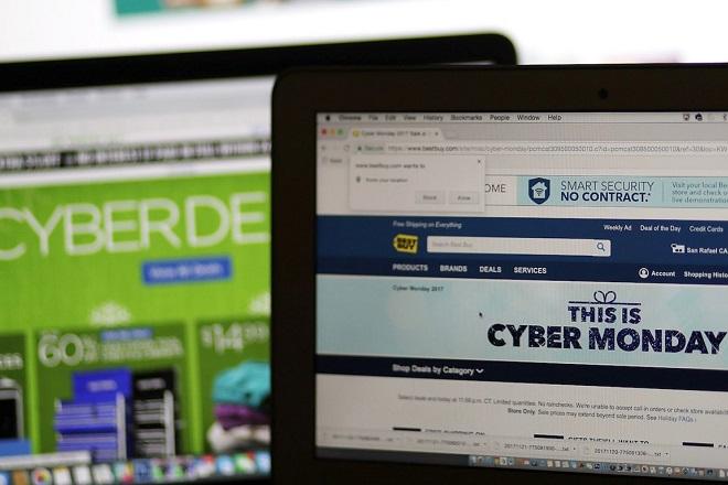 Cyber Monday: «Σάρωσε» την Black Friday με πωλήσεις 7,9 δισ. δολαρίων στις ΗΠΑ