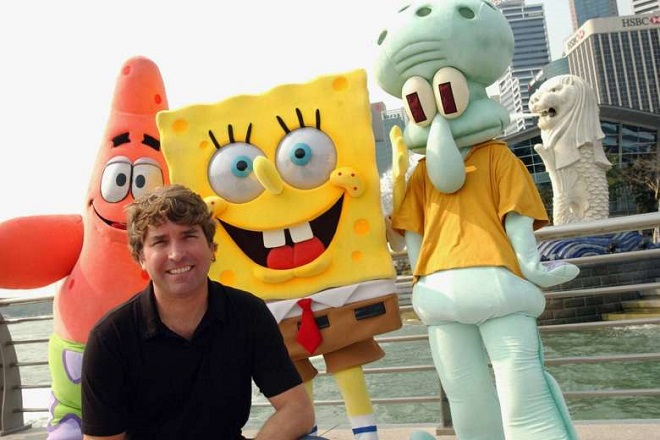 Stephen Hillenburg nickelodeon spongebob squarepants