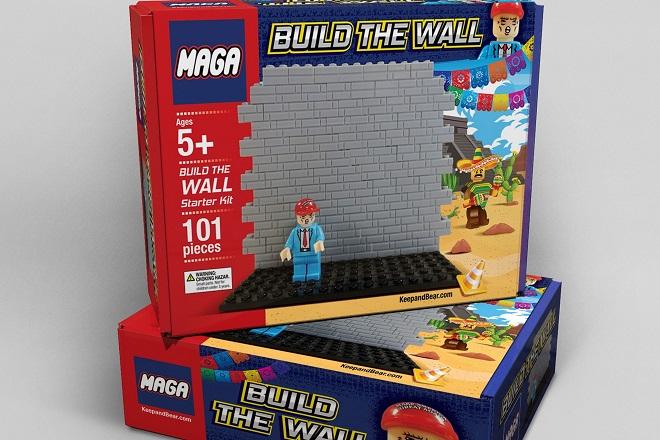 «Χτίστε το Τείχος»: Ένα άκρως διχαστικό παιχνίδι εμπνευσμένο από τις εξαγγελίες του Ντόναλντ Τραμπ